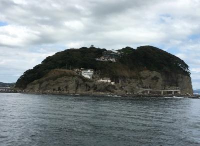 江の島の先端