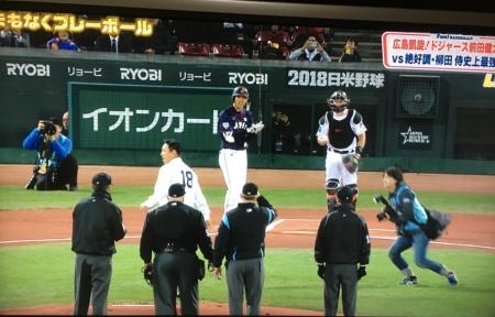 黒田博樹始球式