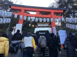 江島神社鳥居