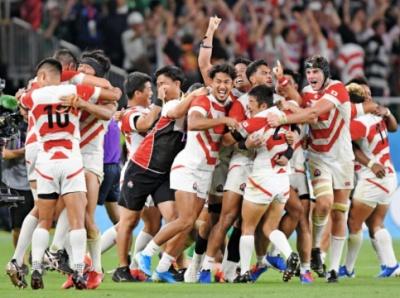 ラグビー日本代表。アイルランド戦勝利