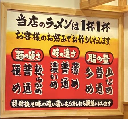 町田商店湘南台店 麺の硬さ