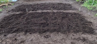 家庭農園 土作り